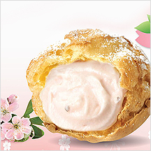 Sakura Cream Puff